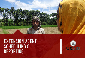 Extension Agent Scheduling Reporting