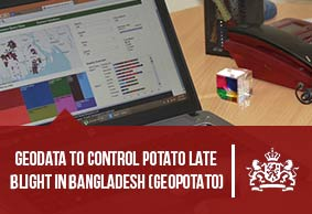 Geodata to control potato late blight in Bangladesh (GEOPOTATO)