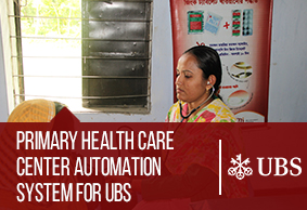 Primary Health Care Center Automation System for UBS